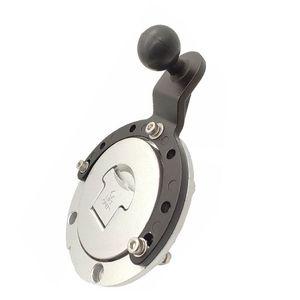 Image 4 - オートバイガスルモーターサイクルタンクマウントの gps 携帯電話のカメラブラケットホルダー川崎ホンダキット