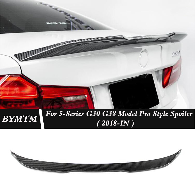 Pro Style Carbon fiber Spoiler For BMW 5 Series G30 G38 525i 530i 540i Le F90 M5|Spoilers & Wings| |  - title=