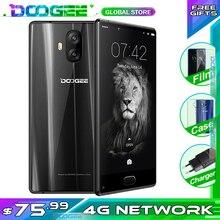 DOOGEE DELLA MISCELA Lite 2GB + 16GB 5.2 Pollici HD Lunetta meno Posteriore Dual Camera Anteriore di impronte digitali ID MT6737 Quad Core 3080mAh 4G Del Telefono Mobile