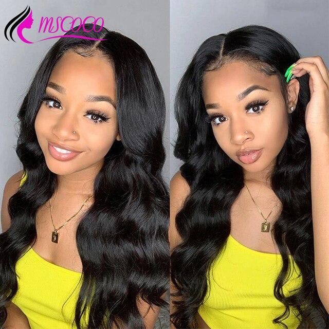 Mscoco Haar 613 Frontale Sluiting Peruaanse Steil Haar 613 Blonde Kant Frontale Sluiting Remy Human Haar Oor tot Oor Kant frontale