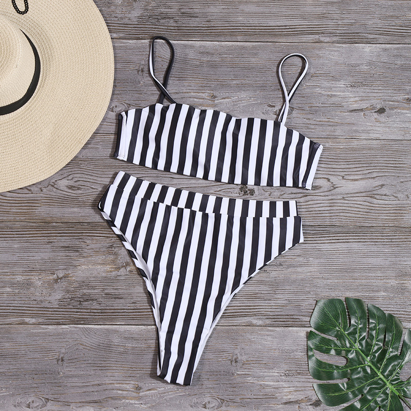 H801ab0cc96944c2489ea4235c82b68dcw Minimalism Le Solid High Waist Bikinis Sexy Leopard Swimsuit Women Snake Print Bathing Suit 2019 New Swimwear Summer Beachwear
