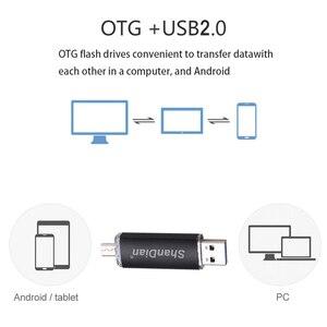 Image 4 - SHANDIAN unidad flash de alta velocidad OTG, 64GB, 32GB, 16GB, 8G, 4GB, almacenamiento externo, doble aplicación, Micro USB, regalo