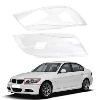 Car Headlight Xenon Lens Shell Cover for BMW 3 E90 Sedan / E91 Touring 2005-2012 Right image