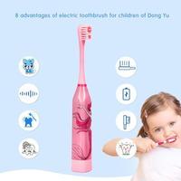 Электрическая зубная щетка с рисунком #4