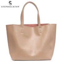 SC Роскошные брендовые сумки-тоут из коровьей кожи, дизайнерские сумки из воловьей кожи, женские сумки на плечо, модные женские сумки с больш...