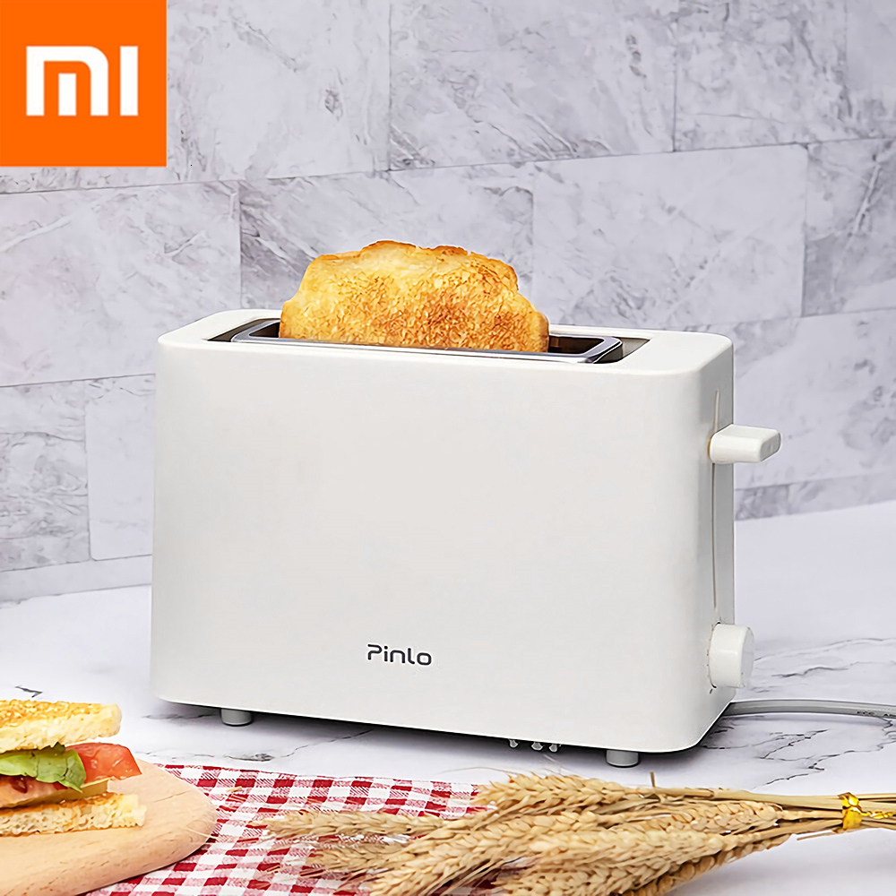 Xiaomi Youpin Pinlo Electric Bread Toaster Stainless Steel Bread Baking Maker Machine For Sandwich Reheat Kitchen Toast 500W