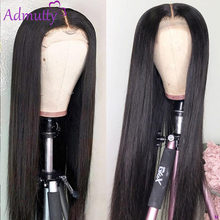 Perruque Lace Front Wig brésilienne Remy naturelle, cheveux humains, lisses, HD, 13x4, 13x6, pour femmes, 150