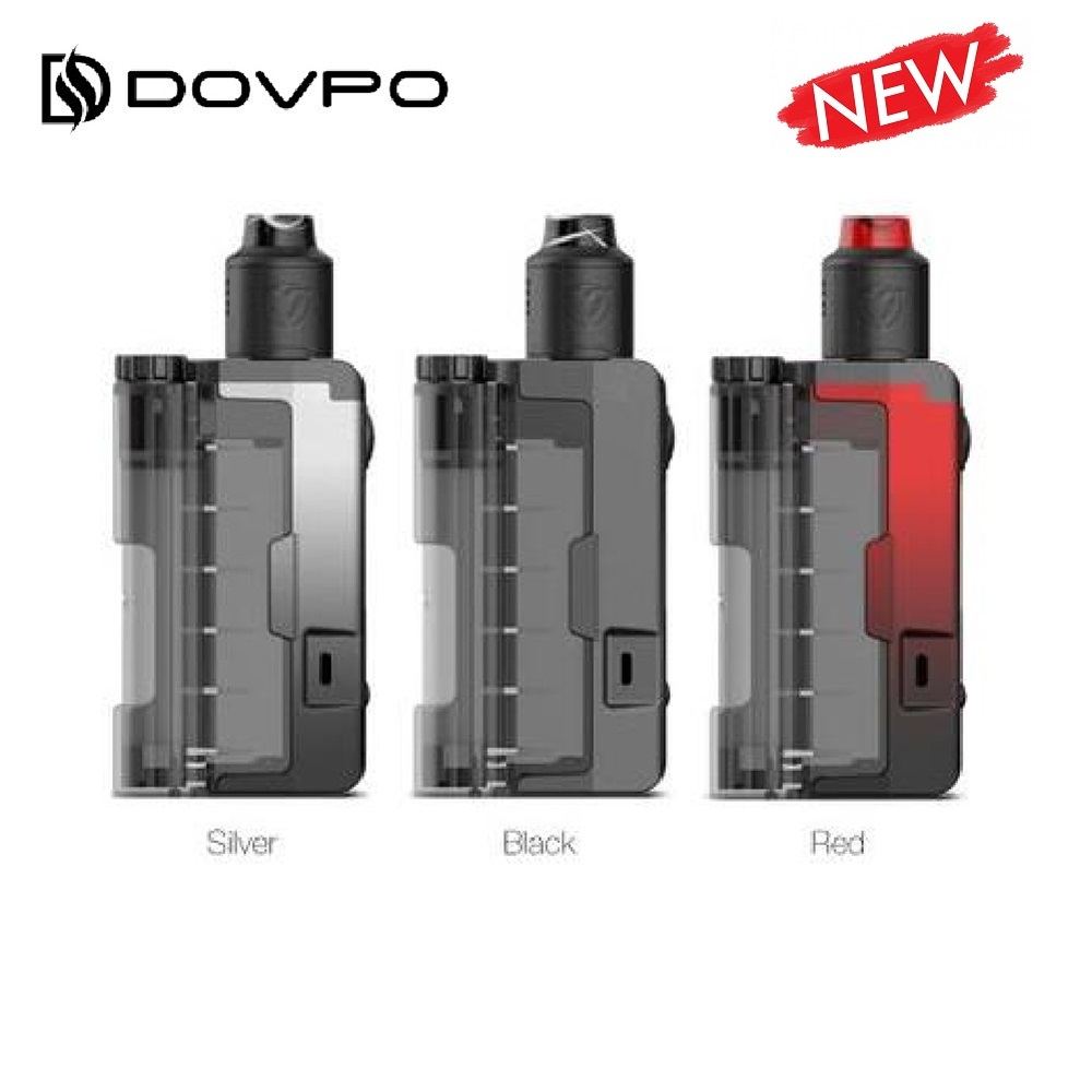 Подлинный Dovpo, пусковое топсайдеры Lite 90 Вт TC комплект с вариант RDA электронная сигарета коробка Mod Kit fit 21700/20700/18650 Батарея Vs перетащите 2/Gen