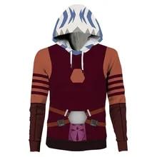 Star Wars Jedi Order Logo Galactic Symbol Hooded Fleece Sweater Pullover Hoodie