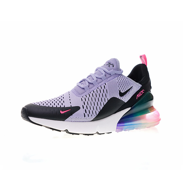 Original Authentic NIKE Air Max 270 Women's Breathable Running Shoes Outdoor Sneakers Athletic Designer 2018 New Arrival AH8050