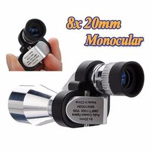 Telescope 8X20 Monoculars Low-Light Visual High-Definition High-Speed Mobile Professional Fashion Portable