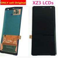 Original Super AMOLED 6.0For SONY XZ3 LCD Display Touch Screen Digitizer For SONY Xperia XZ3 Display H9493 H8416 H9496 XZ 3 LCD