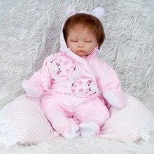 Menina reborn bebes boneca bonecas do bebê silicone macio boneca reborn brinquedos bonecas crianças presentes do miúdo brinquedos cama tempo plamate