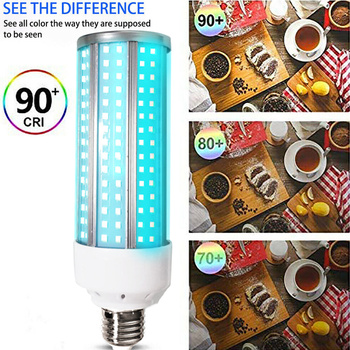 UV 60W Lamp LED UVC Bulb E27 Household Light Bulbs with Remote Control for Home GQ - discount item  37% OFF Lighting Bulbs & Tubes