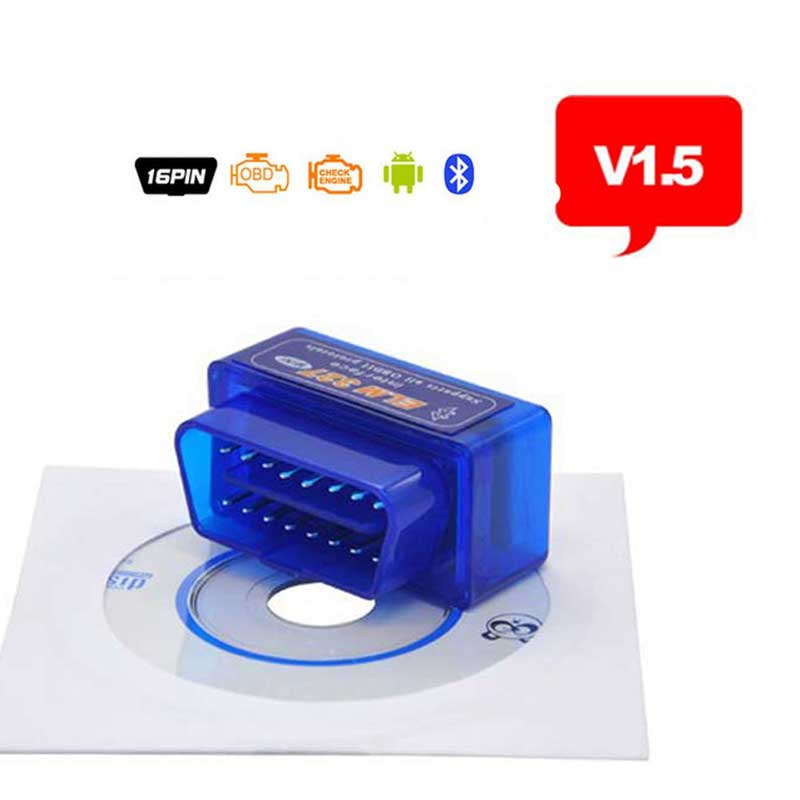 A + + Qualität Mini Tester <font><b>OBD</b></font> 2 Auto Diagnose Scanner Neueste Original V1.5 Super Mini <font><b>ELM327</b></font> <font><b>OBD2</b></font> <font><b>OBD</b></font> <font><b>II</b></font> <font><b>Bluetooth</b></font> ULME 327 image