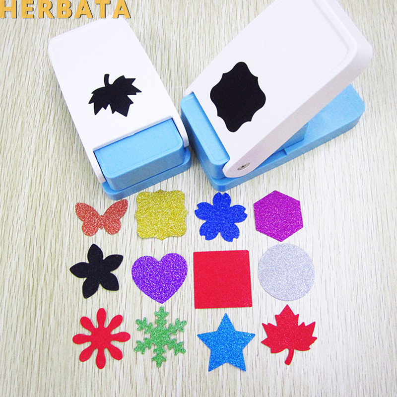 Free Ship Flower Furador BIG SIZE Diy Paper Cut Eva Foam Maker Puncher Scrapbooking Labor Saving For Kid Hole Punch CL-1216