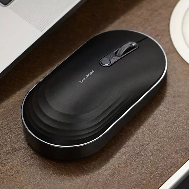 MIIIW Wireless AI Smart Voice Keyboard Deformable Mouse Set English Support 2.4GHz USB Bluetooth Connection Rechargable Keyboard