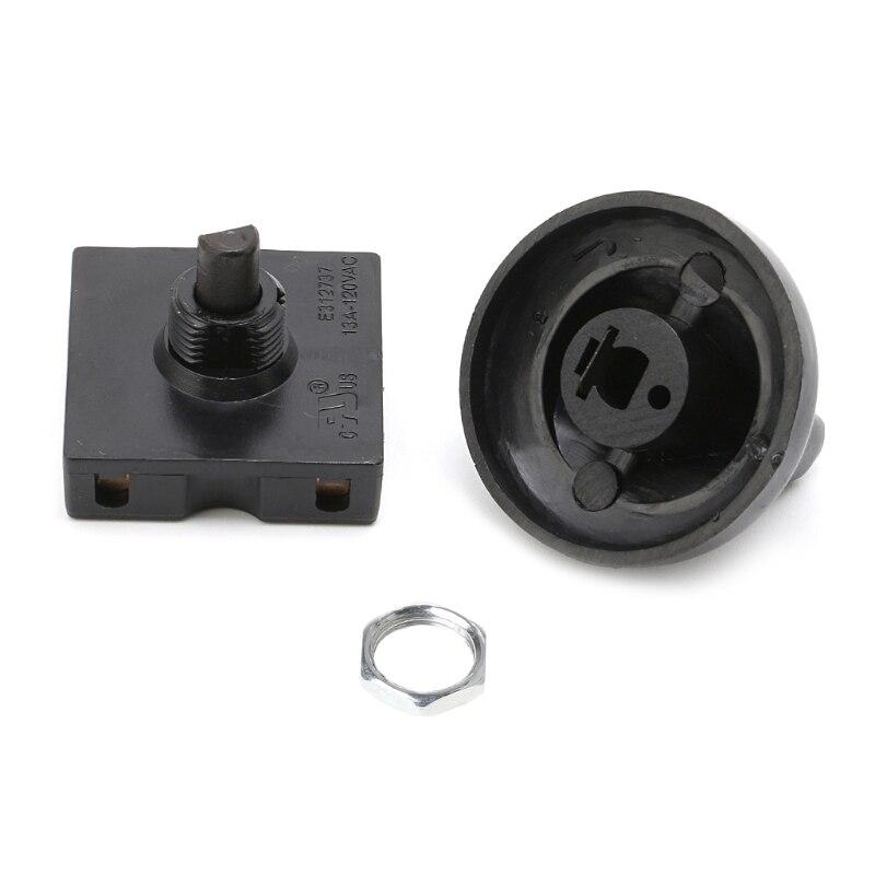 4 позиционный 3 Скорость вентилятор Селекторный поворотный переключатель