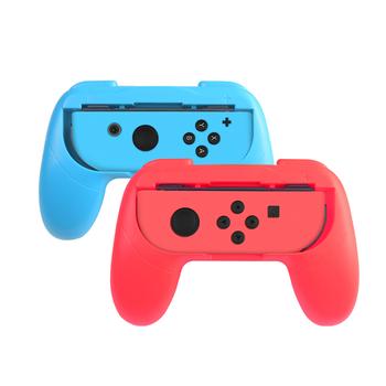 Dane żaba 2 sztuk lewy + prawy Joy Con uchwyt stojak uchwyt do Nintendo Switch NS Joy-Con kontroler Gamepad ściskacz akcesoria tanie i dobre opinie DATA FROG ZXX1118RTTSBZJ For Nintend Switch Joycon Bracket Holder Joycon Handle Grip Handle Grips for Switch For Nintendo Switch Joy-Con