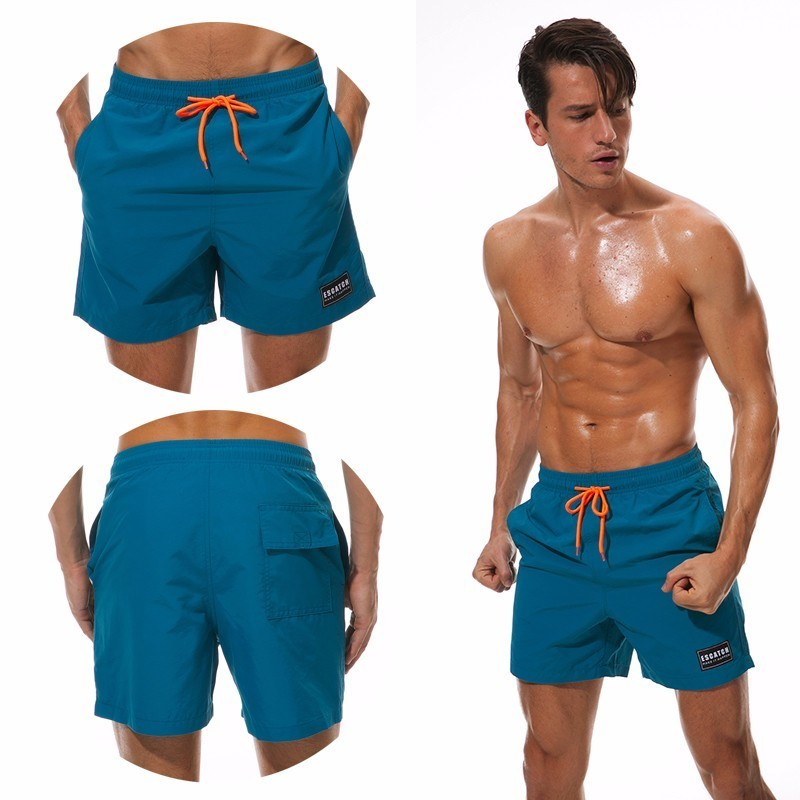 ESCATCH Mens Swimwear Swim   Shorts   Trunks Beach   Board     Shorts   Swimming Pants Swimsuits Mens Running Sports Surffing   shorts