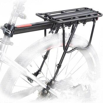 دراجة الرف سبائك الألومنيوم 50 كجم حامل خلفي للأمتعة الجذع للدراجات الجبلية الدراجة الرف الخلفي رفوف الدراجات دراجة
