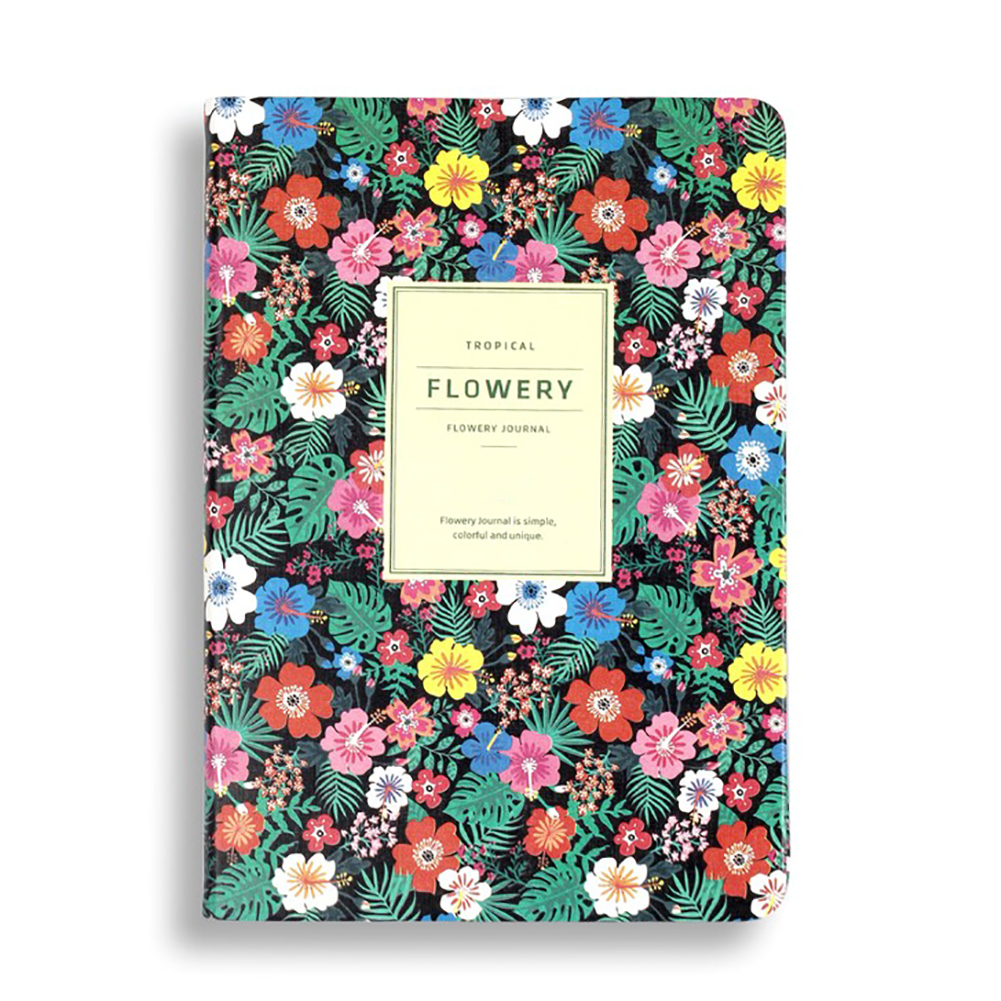 New Arrival Cute PU Leather Floral Flower Schedule Book <font><b>Diary</b></font> Weekly Planner <font><b>Notebook</b></font> School Office Supplies <font><b>Kawaii</b></font> Stationery image