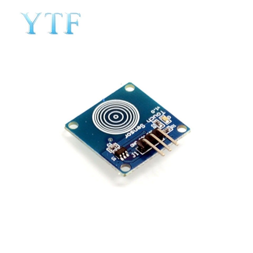 Smart Electronics Blue Digital TTP223B Sensor Module Capacitive Touch Switch For Arduino Diy Kit
