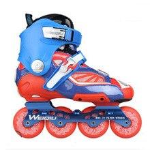 الشريحة يوصي المهنية حذاء تزلج بعجلات للكبار انزلاق التزلج Patines مع عجلات بولي Durable دائم ل SEBA عالية ضوء HL HV