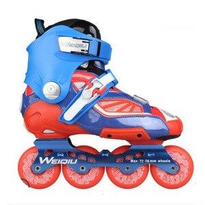 Image 1 - Slide Raden Professionele Inline Skates voor Volwassen Sliding Schaatsen Patines met Duurzaam PU Wielen Voor SEBA Hoge Licht HL HV