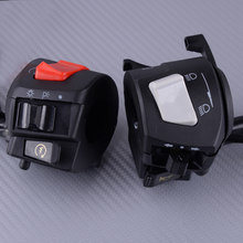 "High PerFit for mance Left & Right 7/8"" Motorcycle Handlebar Horn Turn Signal Headlight Electrical Start Switch Accessories(China)"