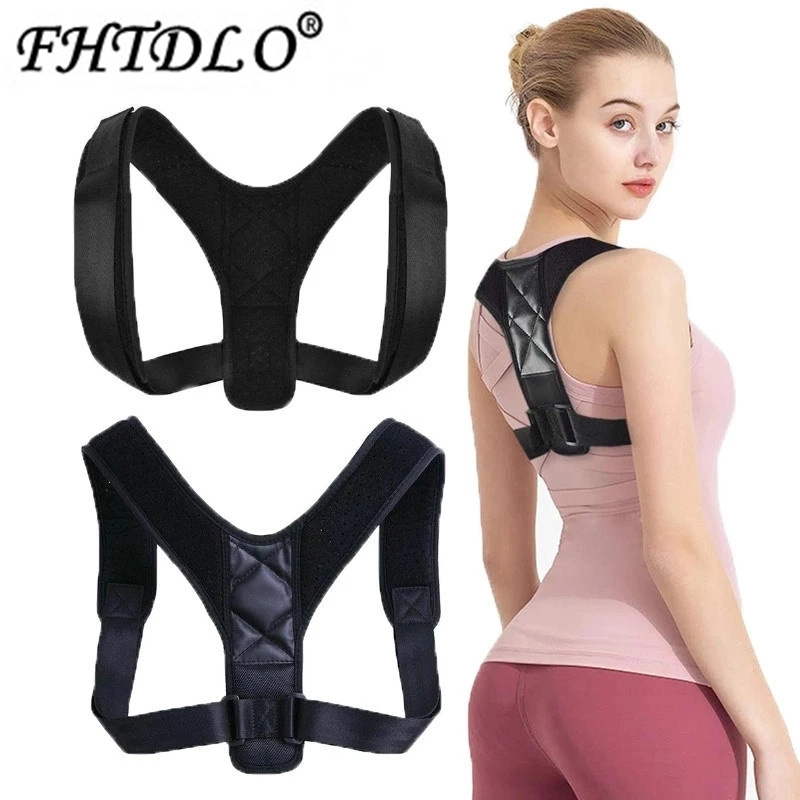 Back Posture Corrector Belt Adjustable Clavicle Spine Back Shoulder Lumbar Posture Correction