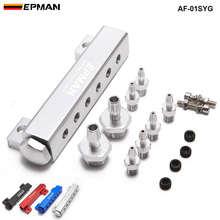 Алюминиевый турбонаддув 1/8 npt набор коллектора с 6 портами