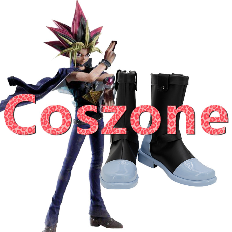 Yu-Gi-Oh Dark Magician Girl Cosplay costume Boots Boot Shoes Shoe