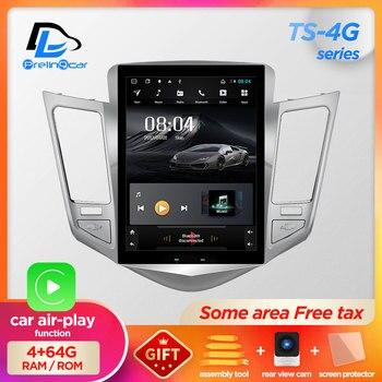 32G ROM Verticale dello schermo di android 9.0 del sistema gps per auto multimedia video radio player in dash per Chevrolet CRUZE di navigazione stereo