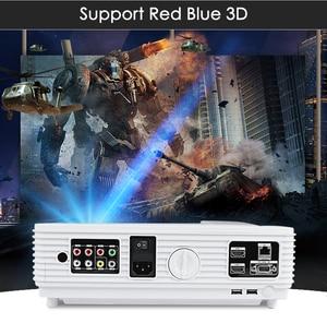 Image 2 - Poner Saund LED96 WIFI מקרן 3D 5500 Lums מלא HD אנדרואיד 6.0 אלחוטי מסך רב אינטראקטיבי 10m HDMI חצובה 3D Proyector