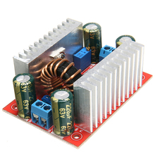 цена на 150kHz DC-DC 400W 15A Module Step Up Boost Converter Constant Current Power Supply 8.5-50V to 10-60V Voltage Charger