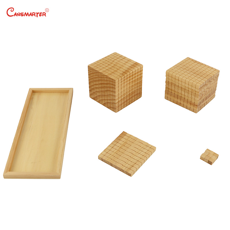 Juguetes de matemáticas diez bases, caja de madera Montessori profesional Montessori, juguetes educativos para estudiantes, juguetes para niños MA085 - 2