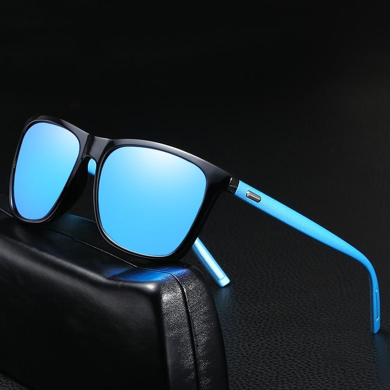 Unisex  Lens Classic Retro Polarized Sunglasses Women/Men Brand Design Square Driving Sun Glasses Shades Eyewear