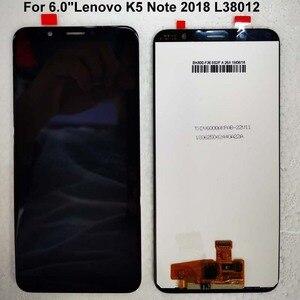 """Image 5 - Orijinal yeni AAA 6.0 """"Lenovo K5 not 2018 L38012 LCD ekran + dokunmatik panel sayısallaştırıcı Lenovo K9 not"""