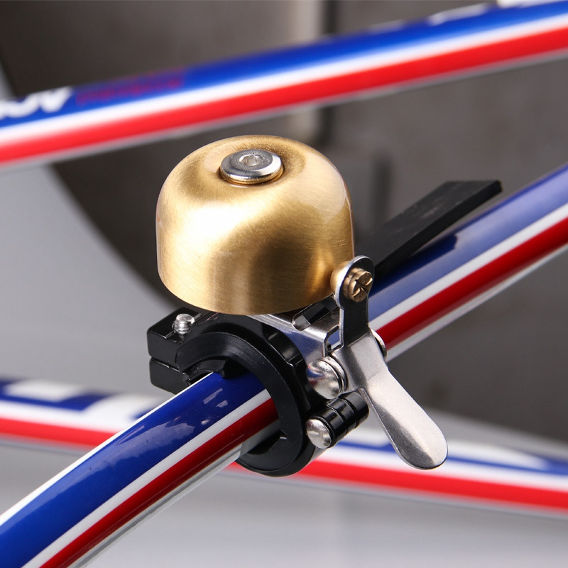 Metal Copper Retro Cycling Bike Accessories Alarm Bell Ring Bicycle Bell