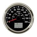 85 мм мотоцикл gps скорость метр Датчик скорости lcd Многофункциональный 0-200MPH 300 км/ч