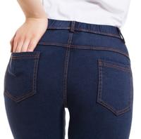 Frau Frühling Jeans Leggings Mujer Beiläufige Dünne Jeggings Frauen Hohe Taille Denim Legging Femme 4 Taschen Bleistift Hosen Für Frauen