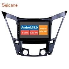 Seicane 9 인치 안 드 로이드 10.0 자동차 라디오 블루투스 4G WiFi 멀티미디어 플레이어 2011 2012 2013 2014 2015 현대 소나타 i40 i45