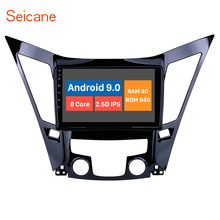 Seicane 9 pouces Android 10.0 autoradio Bluetooth 4G WiFi lecteur multimédia pour 2011 2012 2013 2014 2015 HYUNDAI Sonata i40 i45