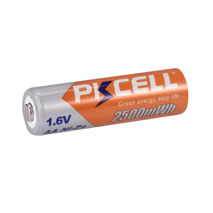 Image 5 - 12Pcs PKCELL NIZN AA Rechargeable Battery aa ni zn 2500mwh 1.6v NIZN Batteries For Digital cameras flash lights electric toy