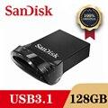 SanDisk CZ430 Mini USB 3,1 Flash Drive Disk 128GB 64GB 32GB 16GB Stift Drive Tiny Pendrive memory Stick Speicher Gerät-stick