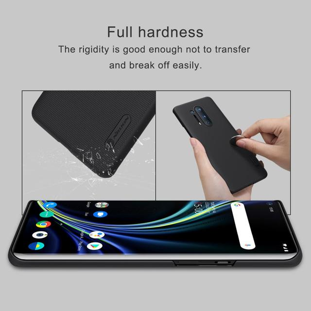 Case For oneplus 8 Pro Cover One plus 8 NILLKIN Super Frosted Shield Matte PC back cover case for Oneplus 8 Pro gift holder