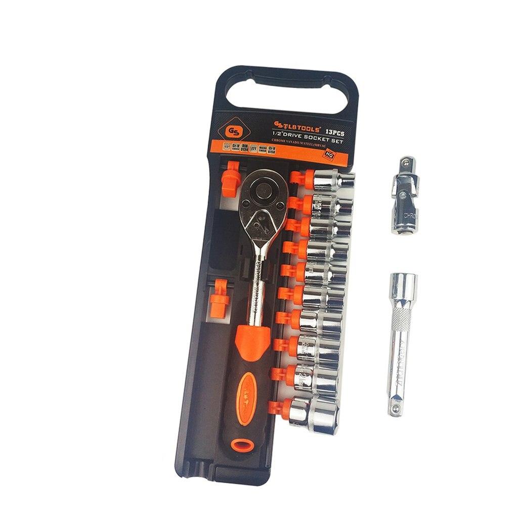 13PC Ratchet Wrench Set 1/4