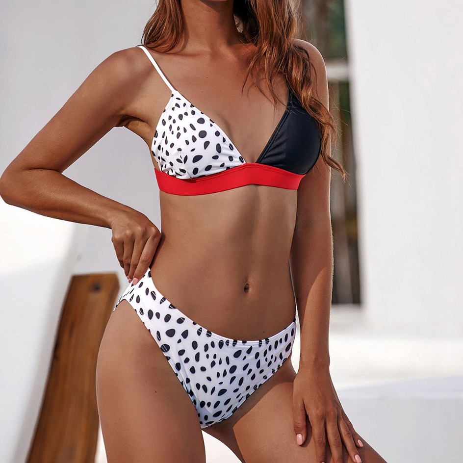 Sexy Leopard Swimsuit Women Micro Push Up Bikini 2020 Summer Beachwear Swimwear Women Swim Bathing Suit Female Swim Bikinis Set 2
