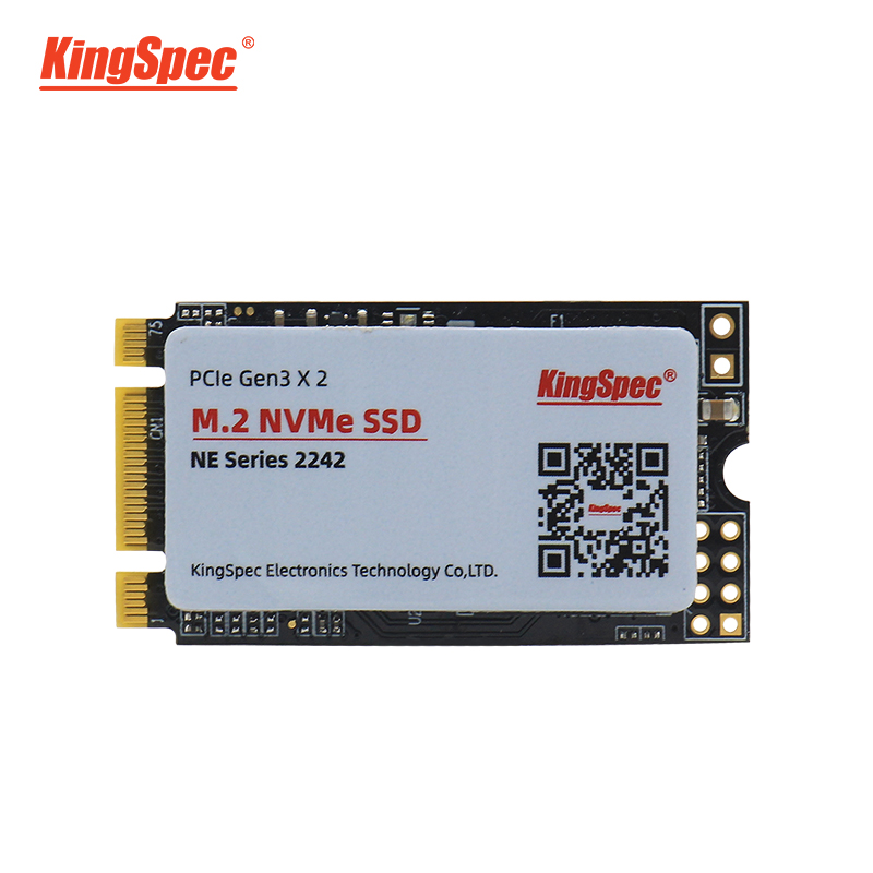 Kingspec 22x42mm pci-e sinal gen3.0x2 nvme interno m.2 ssd 512 gb disco rígido sólido hd ssd m2 pcie disco rígido para computador portátil